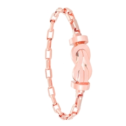 Bracelet Fred Chance Infinie en Or Rose sur Chaine Maillons 0B0096-6B0352